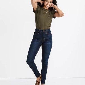 "Madewell 9"" Curvy High Rise Skinny Jeans - Indigo"